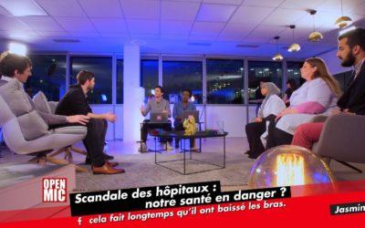 OPEN MIC ! SCANDALE DES HÔPITAUX : NOTRE SANTÉ EN DANGER ? – Avec Flaurent Aubert