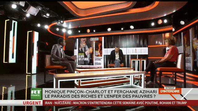 Ferghane Azihari face à Monique Pincon Charlot