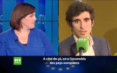 Question de notre coordinateur Mathieu Le Cossec à une intervenante de la France Insoumise