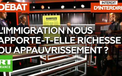 INTERDIT D'INTERDIRE, L'IMIGRATION NOUS APPORTE-T-ELLE ENRICHISSEMENT OU APPAUVRISSEMENT ? – Avec Laurent Pahpy