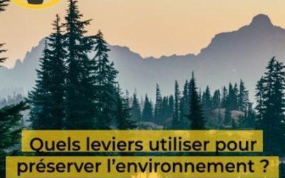 Franc-parler #6 – Quels leviers pour préserver l'environnement ? avec Guillaume Bullier