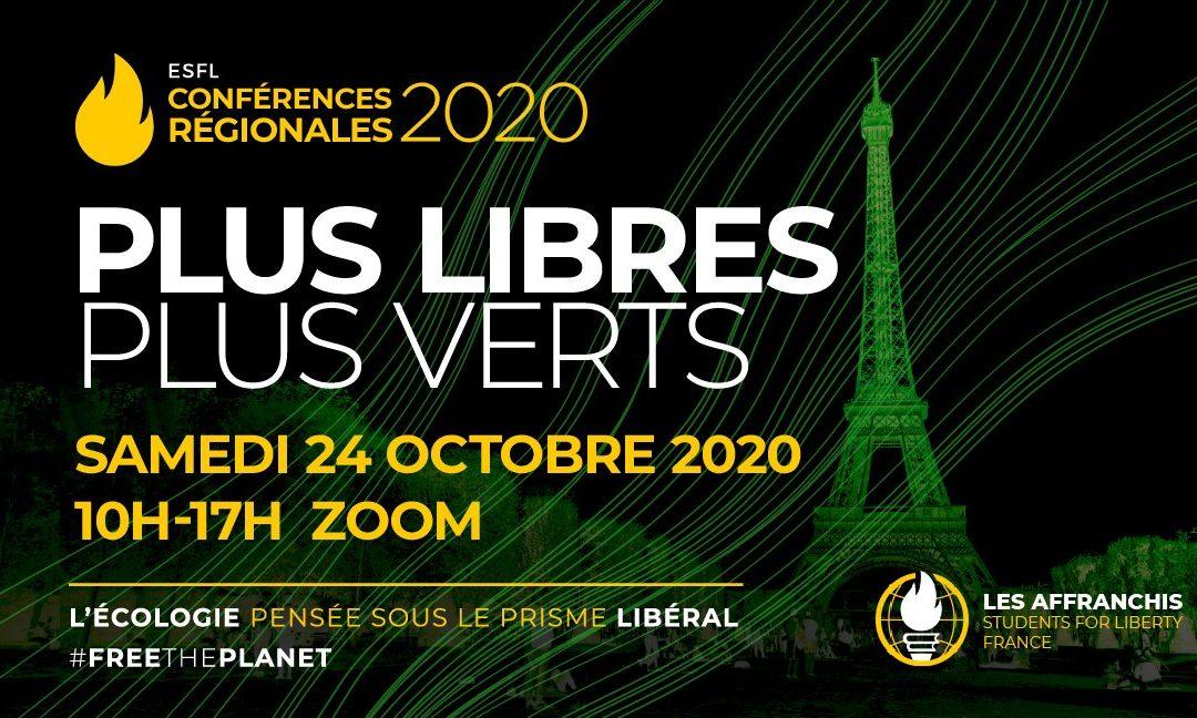 Conférence annuelle : Plus libres, plus verts !